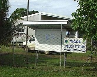 Tigoa - Tigoa police station