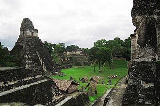 Maya city - The heart of Tikal, one of the most powerful Classic Period Maya Cities