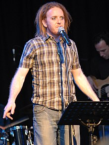 Tim Minchin - the talented, cheerful, funny, amusing, extrovert, eccentric,  actor, musician, comedian,   with Irish, English,  roots in 2019