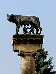 Capitoline Wolf in Timișoara