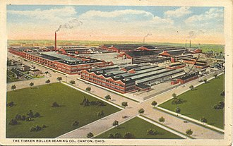 Canton, Ohio - Timken Roller Bearing Co., 1922