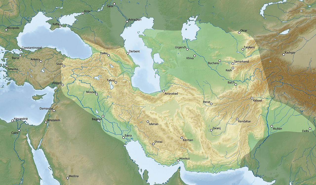 Resultado de imagen de timurid empire