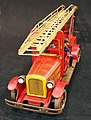 Tin toy fire truck, pic-007.JPG