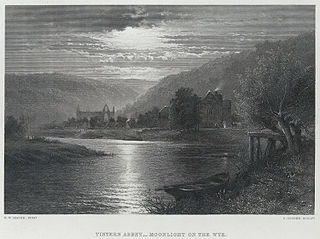 Tintern Abbey, Moonlight on the Wye