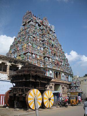 Paadal Petra Sthalam - Image: Tiruvannaikkaval 4