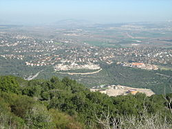 View of Kiryat Tivon