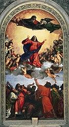 Tiziano: La Asunción de la Virgen (Tiziano)