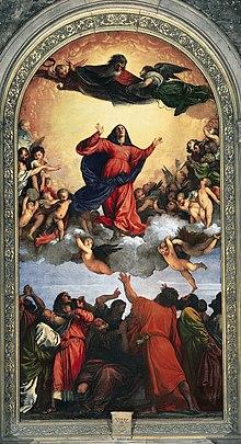 L'Assunzione dipinta da Tiziano