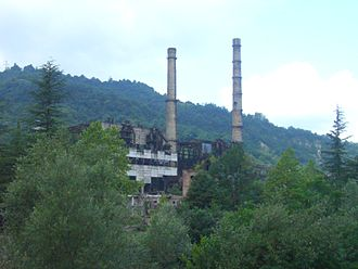 Siege of Tkvarcheli - The town's power plant was bombed in the first days of the siege and the town had to live without electricity for nearly a year