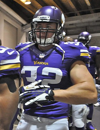 Toby Gerhart - Gerhart with the Vikings in 2013