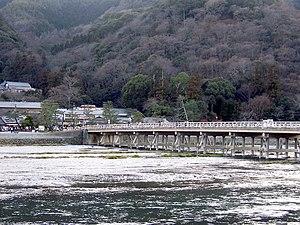 Katsura River - The Togetsukyo Bridge