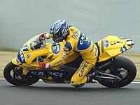 Tohru Ukawa 2003 Japanese GP.jpg