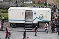 Toilet Trailer in North Court of NTU Gym Birdview at CWT39 20150301.jpg