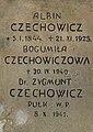 Tomb of Feldman, Gąsiorowski and Czechowicz families (04).jpg