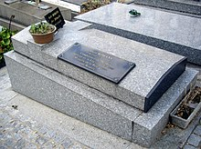 Tombe Alain Romans, Cimetière Saint-Vincent, Paris.jpg