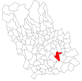 Tomșani, Prahova Commune in Prahova County, Romania
