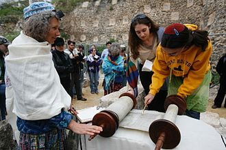 Women in Judaism - Torah Reading at Robinson's Arch