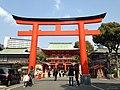 Torii of Ikuta Shrine 2.JPG