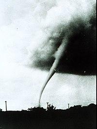 Tornádo nad Manhattanem ve státě Kansas, 31. května 1949