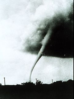 Tornado, 1949 in Kansas (USA)