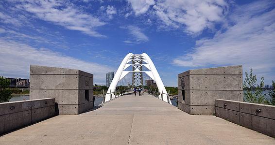 Toronto: Humber Bay Arch Bridge
