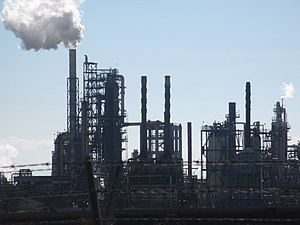 Tosco Corporation - A Tosco Refinery near Ferndale, WA.
