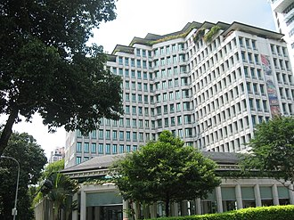 Singapore Tourism Board - Tourism Court at Orchard Spring Lane, the headquarters of Singapore Tourism Board