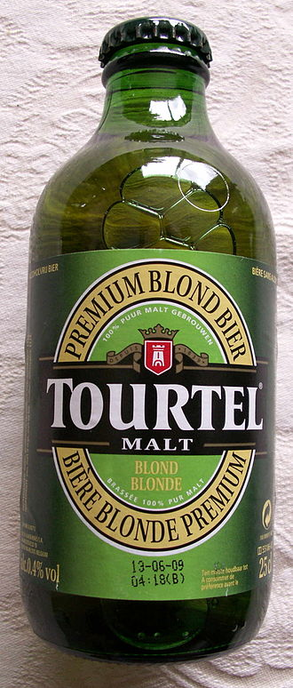 Low-alcohol beer - Tourtel, a near-beer which has 0.4% ABV.