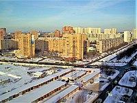 Town of Khimki near Moscow - Babakina Street - in February 2010.jpg