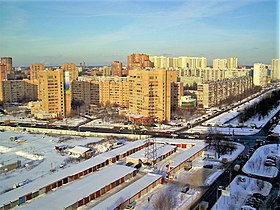 Town of Khimki near Moscow - Babakina Street - in February 2010.jpg