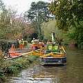 Towpath maintenance, Trent and Mersey Canal - geograph.org.uk - 1556821.jpg