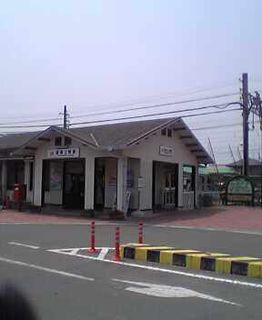 Toyotsu-Ueno Station Railway station in Tsu, Mie Prefecture, Japan