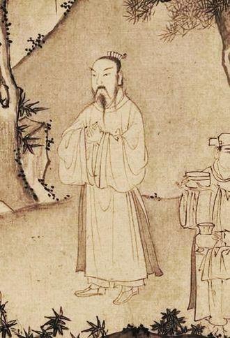 Trần Anh Tông - Trần Anh Tông's portrayal in a 14th century scroll.