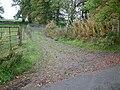 Track to sheep dip, Drumloist Road - geograph.org.uk - 262936.jpg