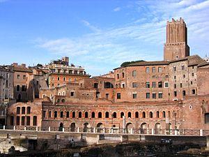 Trajan's Market - Trajan's Market, Rome.
