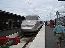 Train à grande vitesse (TGV), July 2006.jpg