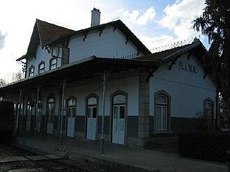 Vila Real - Railway station