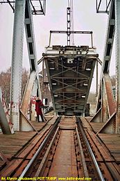 Train bascule bridge across the Regalica river 3.jpg