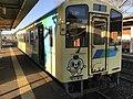 Train for Yukuhashi Station at Toyotsu Station 2.jpg