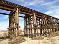 Train trestle over Mojave River, Apple Valley 04.jpg