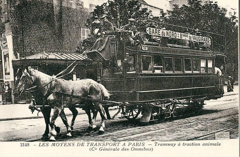 Fichier:Tramway hippomobile CGO.jpg