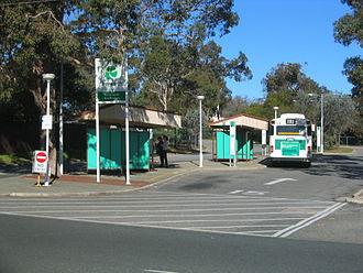 Kalamunda, Western Australia - Kalamunda bus station