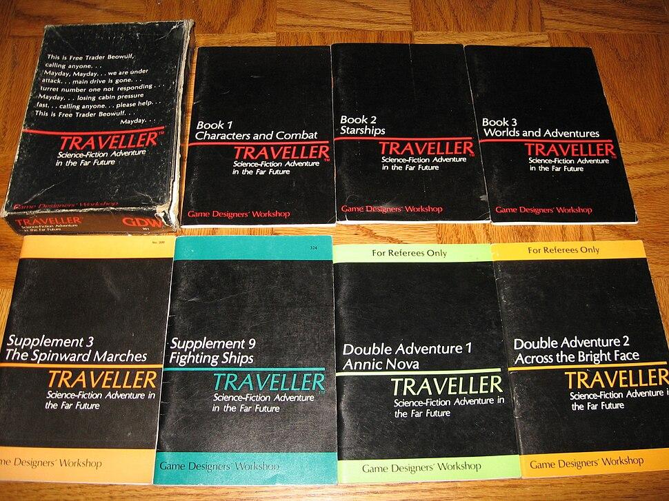 Traveller books