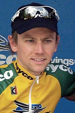 Trent Lowe 2007SunTour Stage7 podium 1 (cropped).jpg