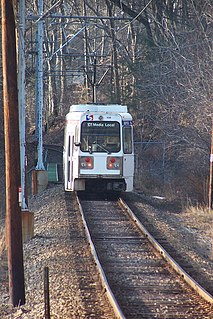 Paper Mill Road station SEPTA trolley station