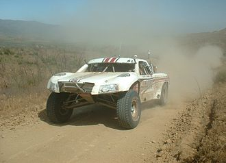 Subaru Baja - Baja 1000 Rally Truck
