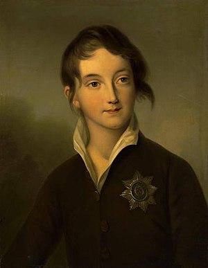 Nicholas I of Russia - Tsar Nicholas I Pavlovich as a boy, circa 1808