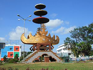 Siger Monument, Bandar Lampung, Indonesia