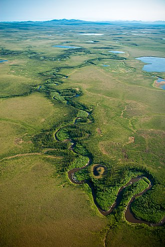 Cape Krusenstern National Monument - Image: Tundra River (20258476344)