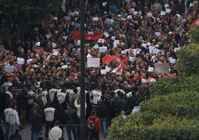 Tunisian Revolution Protest